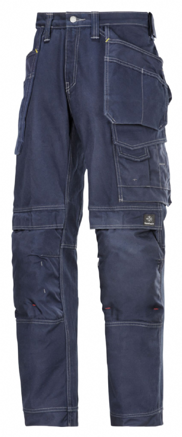 Snickers 3215 Comfort Cotton Craftsmen Holster Pocket Trousers (Navy)
